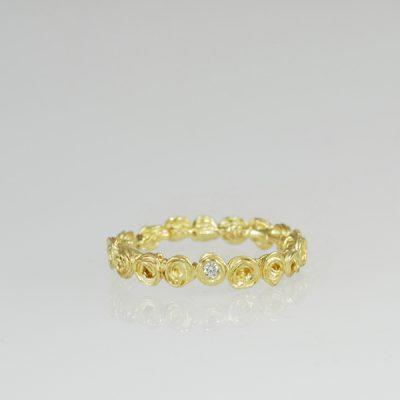 RING GOLD BRILLANT #706